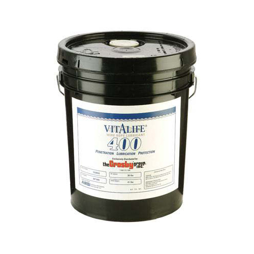 Crosby V-400 Vitalife 5 Gallon Wire Rope Lubricant - #1038955