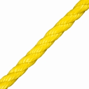 """CWC 1/4"""" PolyPro 3-Strand Rope - 1125 lbs Breaking Strength"""