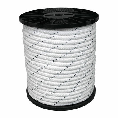 """CWC 3/8"""" x 600 ft Polyester Double Braid Rope - 4468 lbs Breaking Strength"""