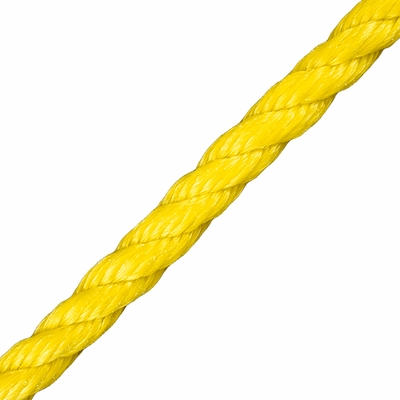 "CWC 3/8"" PolyPro 3-Strand Rope - 2430 lbs Breaking Strength"