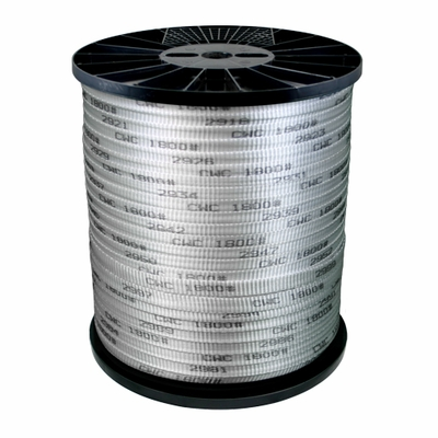 "CWC 5/8"" x 5000 ft Conduit Pull Tape - 1800 lbs Breaking Strength"