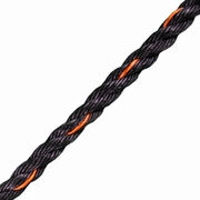 """CWC 1/2"""" PolyPro 3-Strand Truck Rope - 3780 lbs Breaking Strength"""