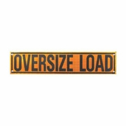 DSP 7 ft Reflective Oversize Load Roll-Up Banner