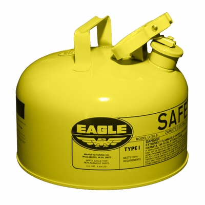Eagle 2 Gallon Type 1 Yellow Safety Diesel Can
