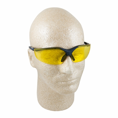 Elvex Acer Amber Safety Glasses - Full Box