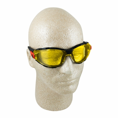 Elvex Go-Specs Amber Anti-Fog Foam-Lined Safety Glasses - Full Box
