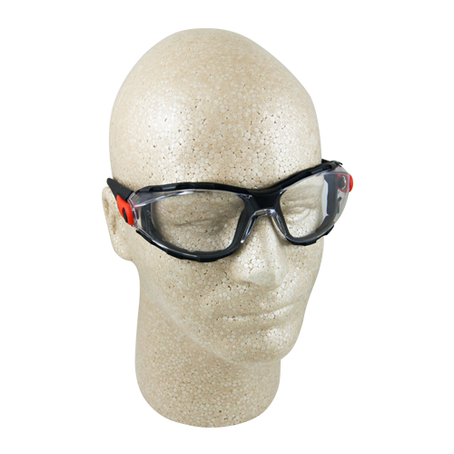 Elvex Go-Specs Clear Anti-Fog Foam-Lined Safety Glasses - Full Box