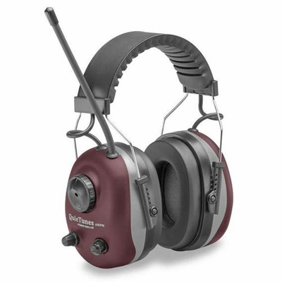 Elvex QuieTunes Stereo Radio Ear Muffs - NRR 22 dB