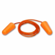 Elvex Uni-Fit Foam Ear Plugs - Corded - NRR 32 dB