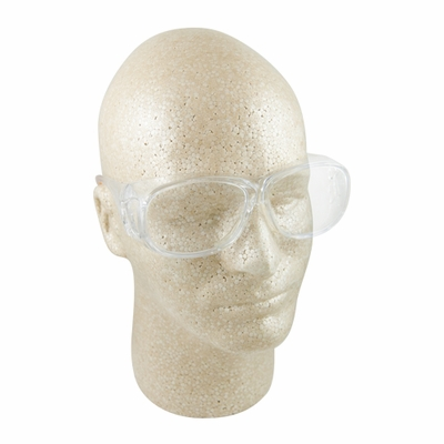 ERB 606 OTG Clear Anti-Fog Safety Glasses - Full Box