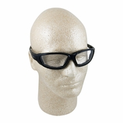 ERB Ammo Black & Clear Anti-Fog Foam-Lined Safety Glasses