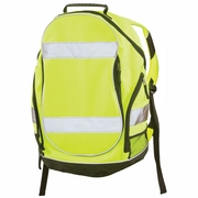 ERB BP1 Hi-Vis Lime Reflective Backpack