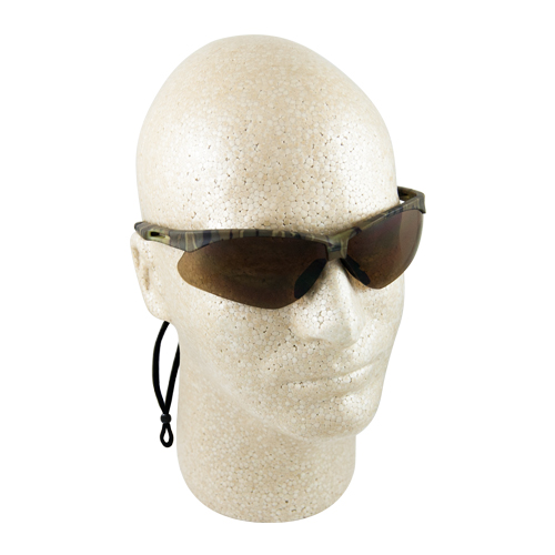 ERB Octane Camo Brown Anti-Fog Safety Glasses
