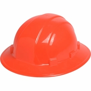 ERB Omega II Full Brim Hard Hat - Hi-Vis Orange