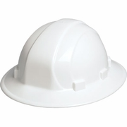 ERB Omega II Full Brim Hard Hat - White