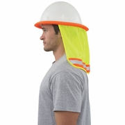ERB S268 Mesh Neck Shield - Hi-Vis Lime