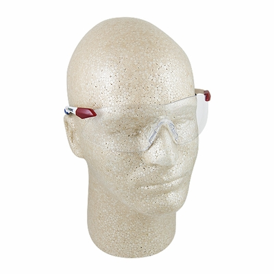 ERB Strikers Red, White & Blue Clear Safety Glasses - Full Box