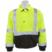 ERB W106L AwareWear Class 2 Bomber Jacket - Lime