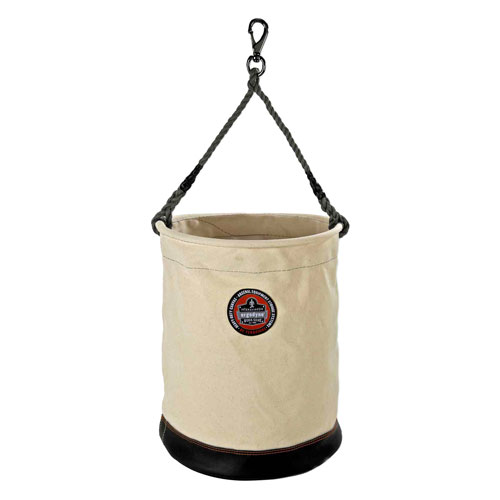 Ergodyne 5745 X-Large Canvas Bucket w/ Swivel Snap