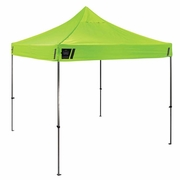 Ergodyne 6000 SHAX Heavy-Duty Pop Up Tent - Lime