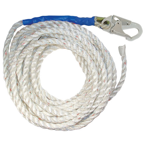 "FallTech 100 ft Vertical Lifeline - 5/8"" Rope - #8200T"