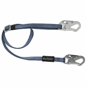 FallTech Adjustable Web Positioning Lanyard - 4.5 - 6 ft - #8209