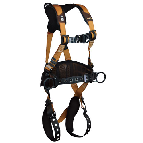 FallTech Advanced ComforTech Gel Construction Harness - Size Large - #7081BFD-L
