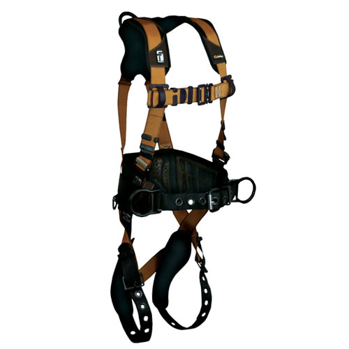 FallTech Advanced ComforTech Gel Construction Harness - Size X-Large - #7081B-XL