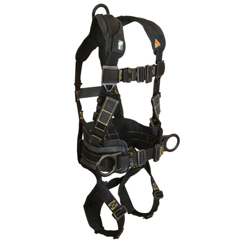 FallTech Arc Flash Construction / Rescue Harness - Size Large - #8073R-L