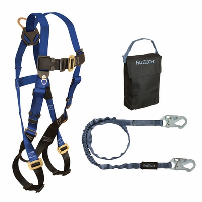 FallTech Carry Kit - 7015 Harness & 8259 Lanyard
