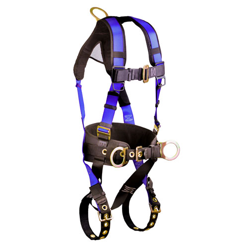 FallTech Contractor+ Construction Harness - Size Small / Medium - #7073B-SM