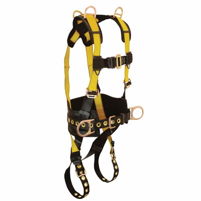 FallTech Journeyman Construction Harness - Size Large - #7034-L