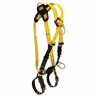FallTech Journeyman Cross-Over Climbing Harness - Size 2X-Large - #7029-2XL