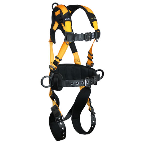 FallTech Journeyman Flex Construction Harness - Size Medium - #7035B-M