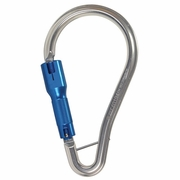 FallTech Large Aluminum Carabiner - Double-Locking - #8447A