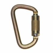 FallTech Small Steel Carabiner - Double-Locking - #8445