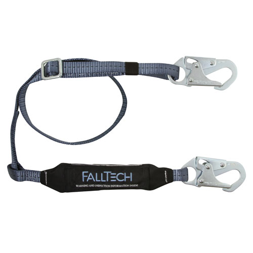 FallTech ViewPack Adjustable Web Lanyard - 4.5 - 6 ft - #8257