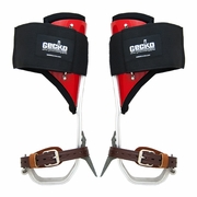 Gecko Ultra Light Aluminum Tree Climbing Spurs & Pads