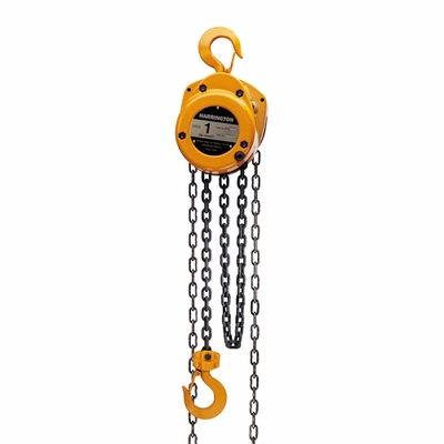Harrington CF 1 Ton x 10 ft Hand Chain Hoist