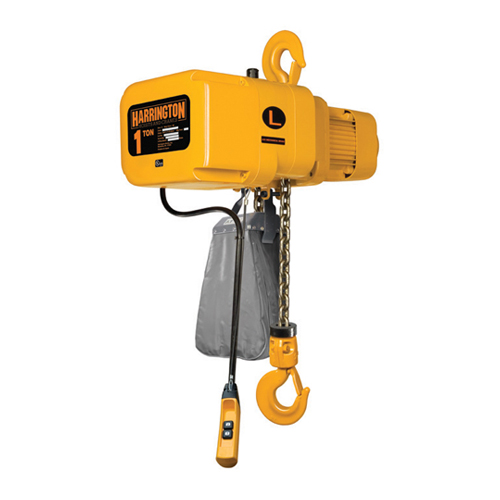 Harrington 1/2 Ton x 10 ft NER Electric Chain Hoist