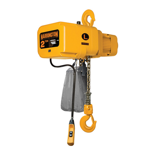 Harrington 5 Ton x 20 ft NER Electric Chain Hoist