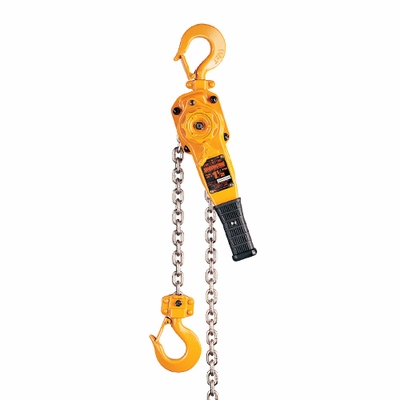 Harrington LB 1-1/2 Ton x 10 ft Lever Chain Hoist
