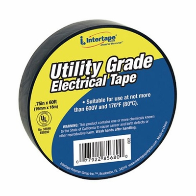 """IPG 3/4"""" x 60 ft 7 mil General Duty Electrical Tape - 10-Pack"""
