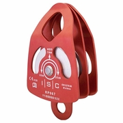 "ISC Large Double Pulley - 5/8"" Rope"