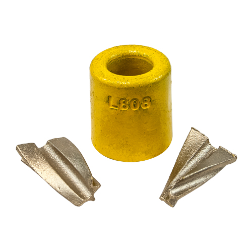 J wedge type quick ferrule quot wire rope