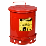 Justrite 10 Gallon Oily Waste Can