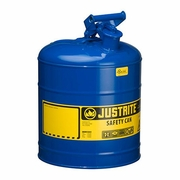 Justrite 5 Gallon Type 1 Blue Safety Kerosene Can