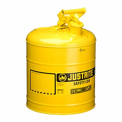 Justrite 5 Gallon Type 1 Yellow Safety Diesel Can