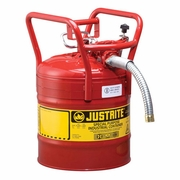 Justrite 5 Gallon Type 2 (DOT) Red Safety Gas Can