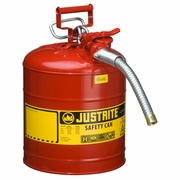 Justrite 5 Gallon Type 2 Red Safety Gas Can